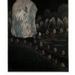 Finding the Beginning, 2006, mezzotint/etching